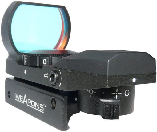 IWEAPONS® Multi-Reticle Red Dot Reflex 23x34 Sight - 7 Level