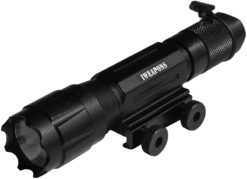 IWEAPONS® Rail Mounted Cree 6V 220 Lumens Flashlight