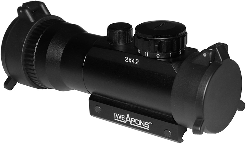 IWEAPONS® Red Dot Sight 2x42mm Sight - 11 Level