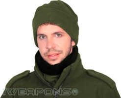 IWEAPONS® Reversible Fleece Neck Warmer - Green/Black
