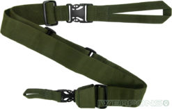 IWEAPONS® IDF 3-Point Rifle Sling Quick Release Gun Sling - Green