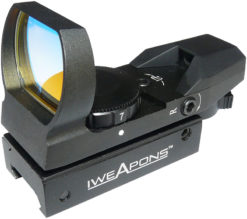 IWEAPONS® Multi-Reticle Red Dot Reflex 23x34 Sight - 7 Level