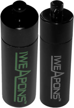 IWEAPONS® Aluminium Case for Ear Plugs