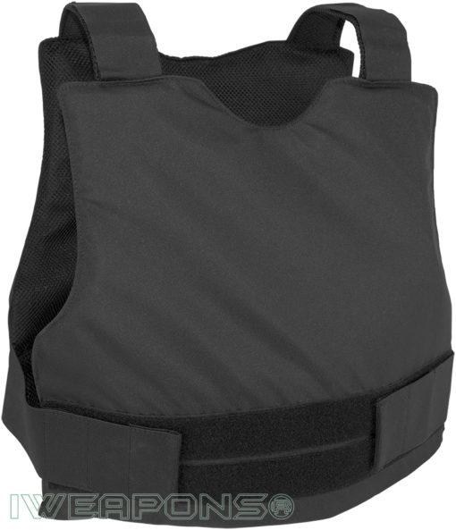 IWEAPONS® Civilian Covert Bulletproof Vest IIIA / 3A - Black
