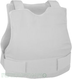 IWEAPONS® Civilian Covert Bulletproof Vest - White