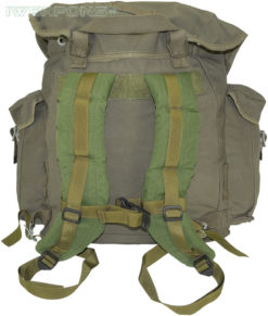 IWEAPONS® IDF Vintage-Style Cotton Canvas Assault Backpack