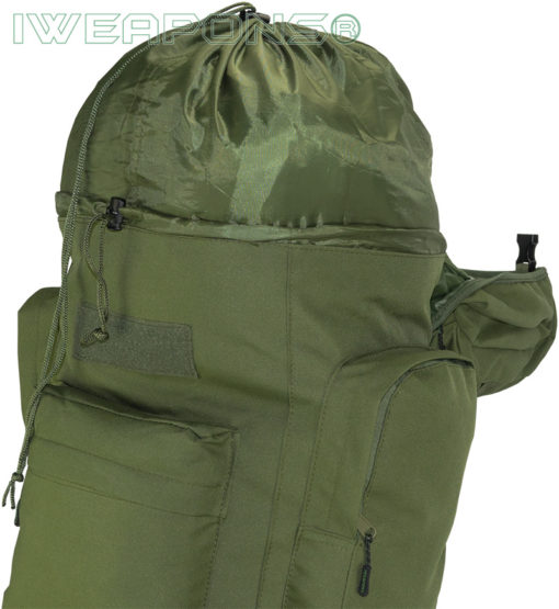 IWEAPONS® Outdoor Military-Style Backpack with Metal Frame [65L]