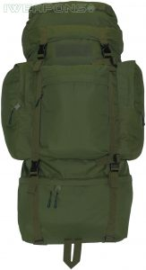 IWEAPONS® Outdoor Military-Style Backpack with Metal Frame [100L]