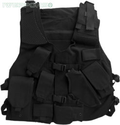 IWEAPONS® Tactical Police Vest with Holster and Backpack