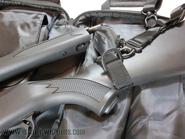 How connect rifle sling to Ruger 10/22 Takedown butt stock
