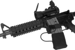 AR15 M4 M16 with IWEAPONS® Red Dot and Magazine Holder