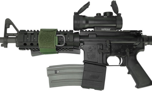 AR15 M4 M16 with IWEAPONS® Red Dot and Magazine Holders