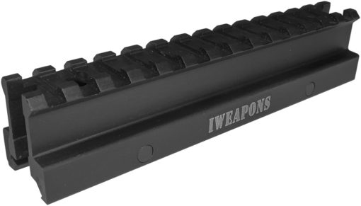 IWEAPONS® 1inch 14-Slots See-Through Riser for Picatinny Rail