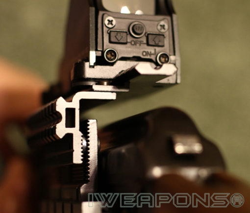 IWEAPONS® AK Side Mount with Washers Spacers for Center Adjustment