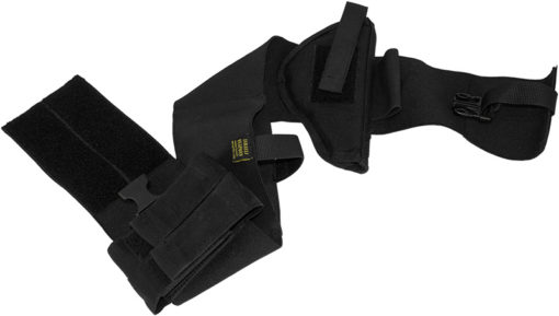 IWEAPONS® Elastic Belt Holster with Double Magazine Pouch