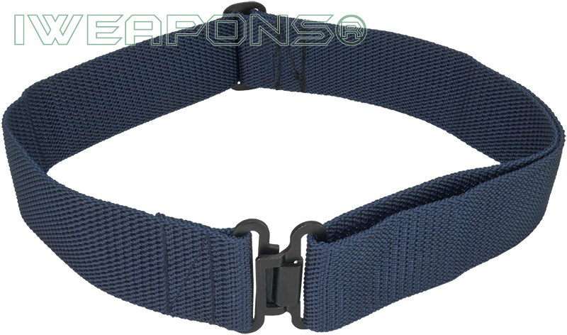 IWEAPONS® IDF Blue Military Belt with Metal Buckle