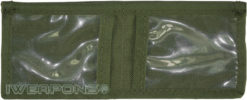IWEAPONS® IDF Military Mini Wallet - Olive Drab