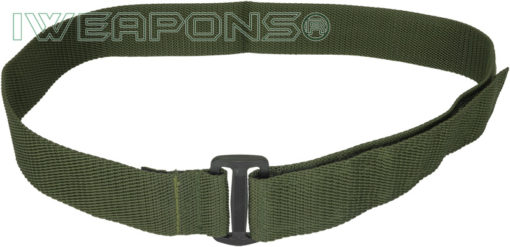 IWEAPONS® IDF Tactical Velcro Belt with Black Buckle