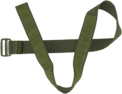 IWEAPONS® IDF Tactical Velcro Belt with Green Buckle