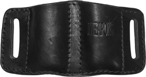 IWEAPONS® Leather Double Mag Pouch