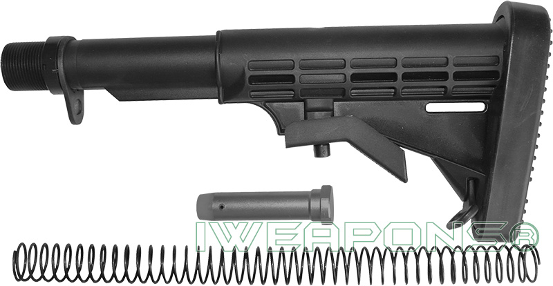 IWEAPONS® M4 Buttstock with Full Buffer Tube Assembly