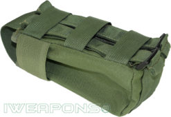 IWEAPONS® MOLLE IDF Green Rifle Mag Pouch
