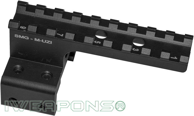 IWEAPONS® Mini-Uzi Picatinny Rail Sight Mount