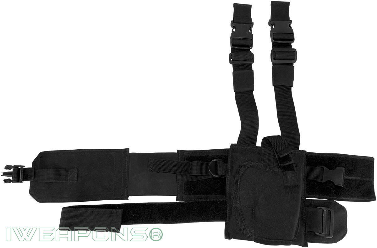 IWEAPONS® Special Forces Thigh Rig Drop Leg Holster