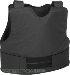 IWEAPONS® Civilian Covert Black Bulletproof Vest IIIA 3A – 4XL 5XL