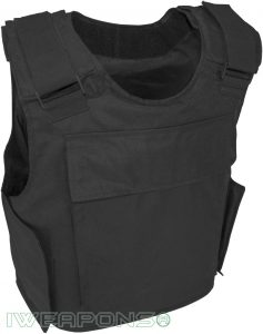 IWEAPONS® Counter Terrorism Bulletproof Vest 3A