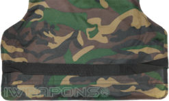IWEAPONS® Delta Camo Bulletproof Vest Internal Belt