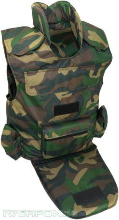IWEAPONS® Delta Camo Utility Bulletproof Vest IIIA