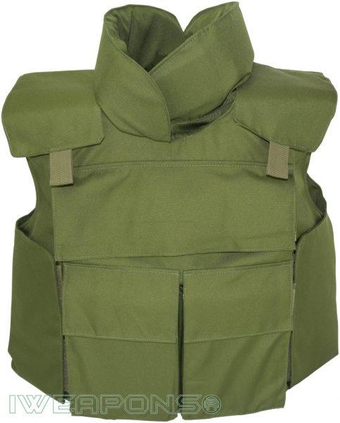 IWEAPONS® Delta Green Universal Bulletproof Vest IIIA