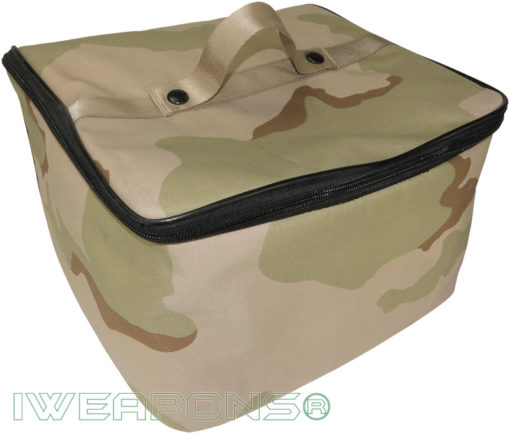 IWEAPONS® Desert Camo Foam Carry Bag for Helmet