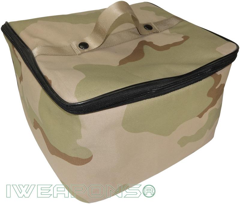 IWEAPONS® Desert Camo Foam Carry Bag for Helmet