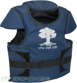 IWEAPONS® Golani Training Vest for Hand-to-Hand Combat