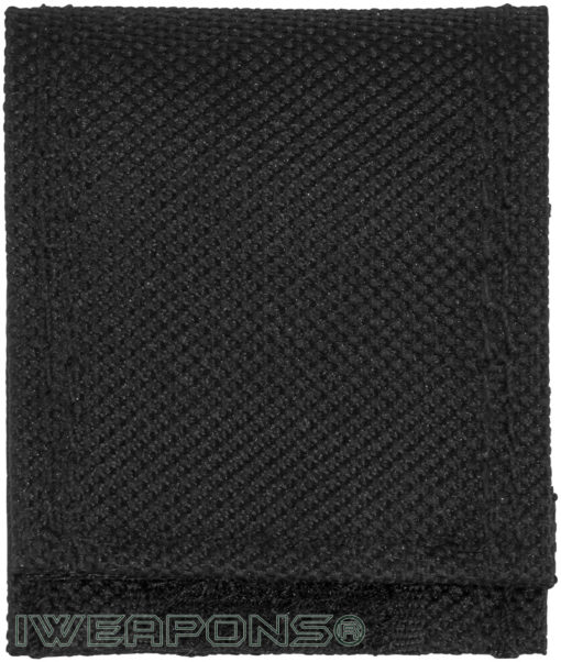 IWEAPONS® IDF Velcro Folding Dog Tag Cover - Black