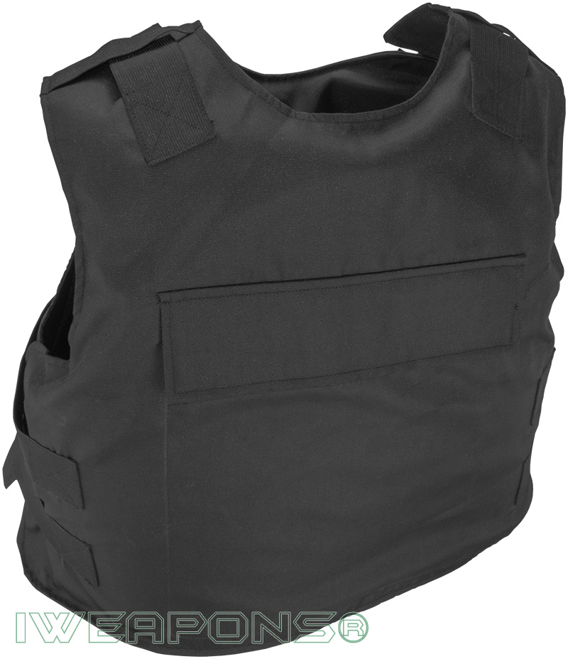IWEAPONS® Security Guard Bulletproof Vest IIIA / 3A with Armor Plates