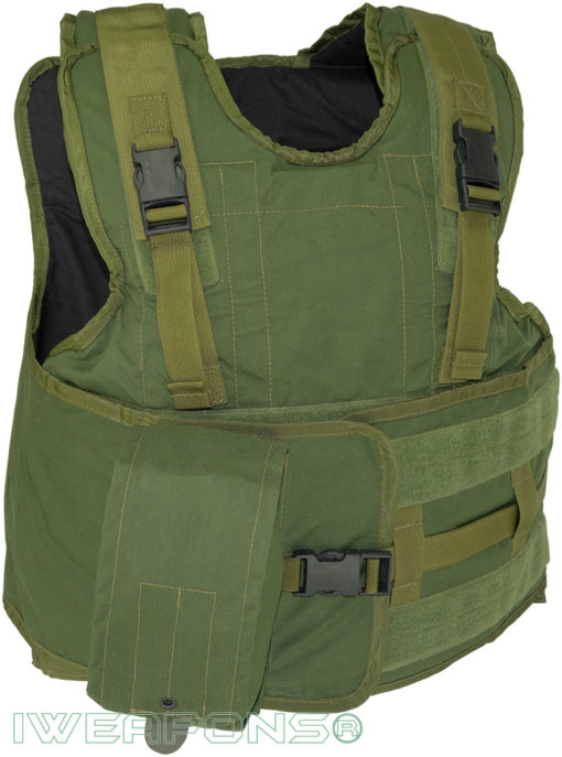 IWEAPONS® Zahal Assault Hashmonai Level III / 3 Bulletproof Vest