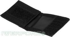 IWEAPONS® IDF Velcro Folding Dog Tag Cover - Black