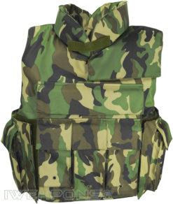 IWEAPONS® Delta Camo Operator Bulletproof Vest IIIA