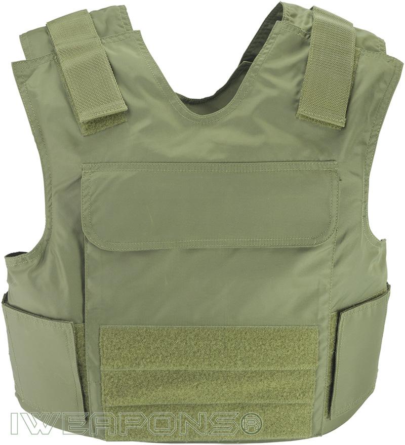 IWEAPONS® Raptor Bulletproof Vest IIIA with Armored Plates