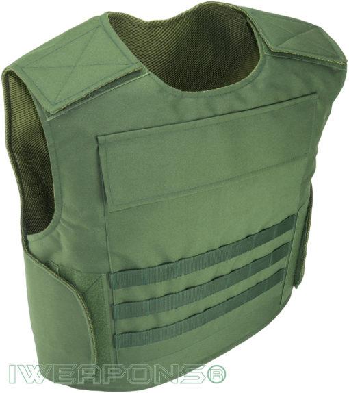 IWEAPONS® Raptor MOLLE Bulletproof Vest IIIA with Armored Plates