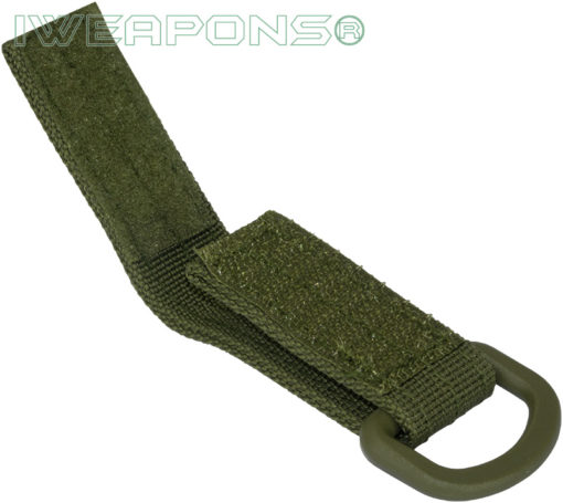 IWEAPONS® D-Ring Attachment for 2inch 5cm Belt - Green