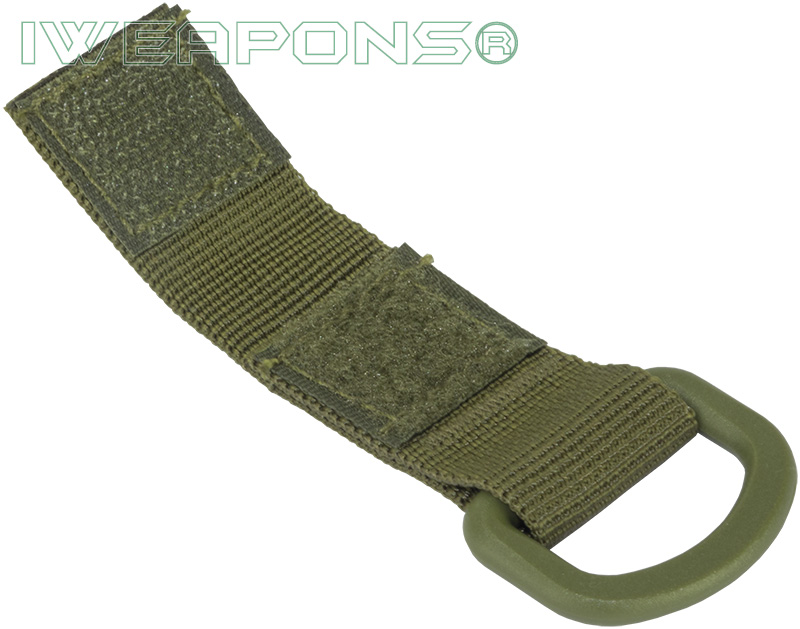 IWEAPONS® D-Ring Attachment for MOLLE - Green