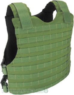 IWEAPONS® MOLLE Concealed Bulletproof Vest IIIA / 3A - Green