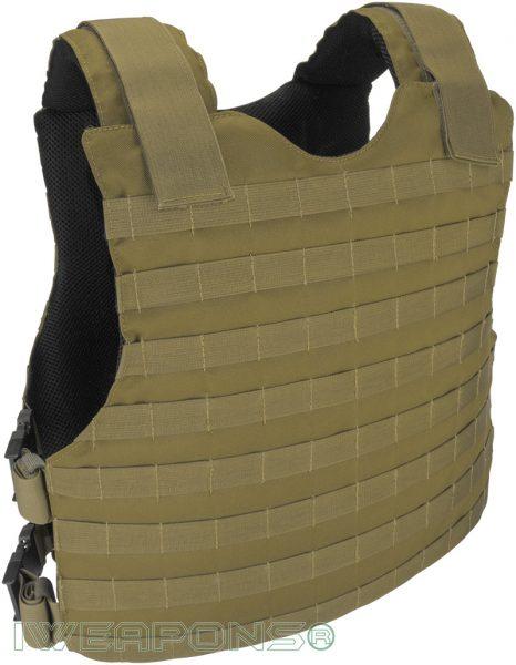 IWEAPONS® MOLLE Concealed Bulletproof Vest IIIA / 3A - Tan