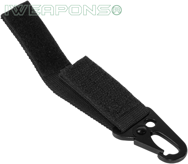 IWEAPONS® Metal Hook Attachment for 2inch 5cm Belt - Black