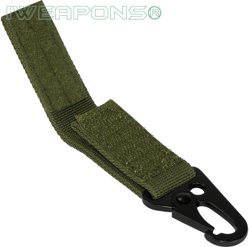 IWEAPONS® Metal Hook Attachment for 2inch 5cm Belt - Green