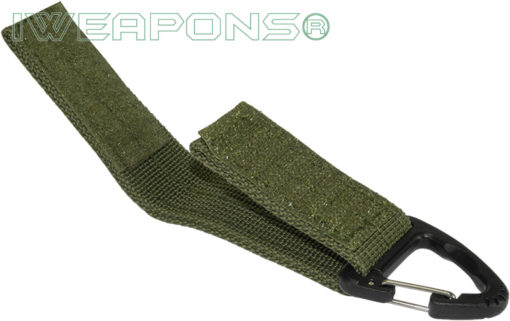 IWEAPONS® Polymer Hook Attachment for 2inch 5cm Belt - Green